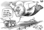 Cartoonist Dwane Powell  Dwane Powell's Editorial Cartoons 2008-01-25 former
