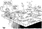 Cartoonist Dwane Powell  Dwane Powell's Editorial Cartoons 2008-02-11 right