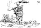 Cartoonist Dwane Powell  Dwane Powell's Editorial Cartoons 2008-05-09 disaster