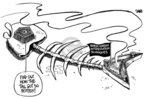 Cartoonist Dwane Powell  Dwane Powell's Editorial Cartoons 2008-07-03 North Korea