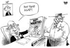 Cartoonist Dwane Powell  Dwane Powell's Editorial Cartoons 2008-08-14 democrat
