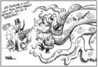 Cartoonist Dwane Powell  Dwane Powell's Editorial Cartoons 2008-10-09 2008 election