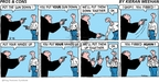 Cartoonist Kieran Meehan  Pros & Cons 2009-02-15 gun