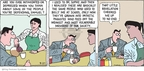 Cartoonist Kieran Meehan  Pros & Cons 2009-09-27 cheer
