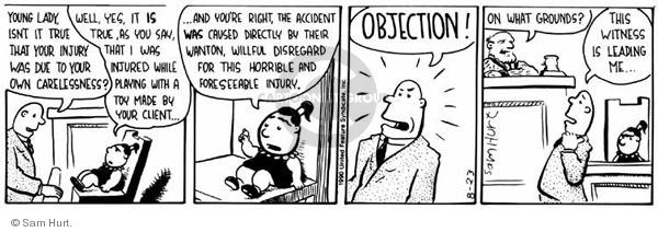 Comic Strip Sam Hurt  Queen of the Universe 1990-08-23 true
