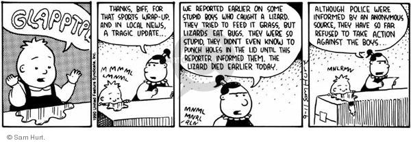 Comic Strip Sam Hurt  Queen of the Universe 1990-09-11 media source
