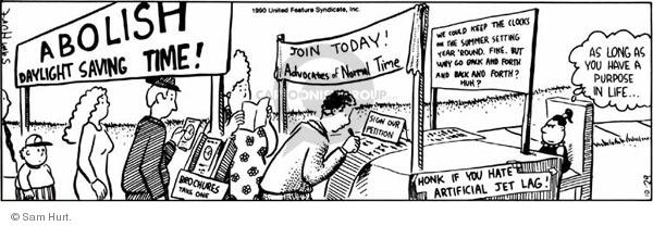Comic Strip Sam Hurt  Queen of the Universe 1990-10-29 summer