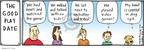 Cartoonist Hilary Price  Rhymes with Orange 2009-01-30 watch game