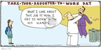 Cartoonist Hilary Price  Rhymes with Orange 2009-09-06 father's day