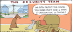 Comic Strip Hilary Price  Rhymes with Orange 2009-12-27 security
