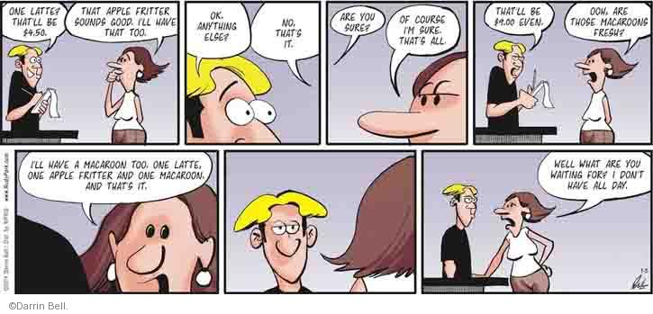 Comic Strip Darrin Bell  Rudy Park 2014-01-05 job