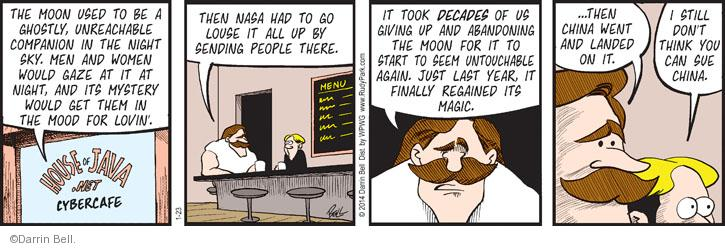 Comic Strip Darrin Bell  Rudy Park 2014-01-23 mood