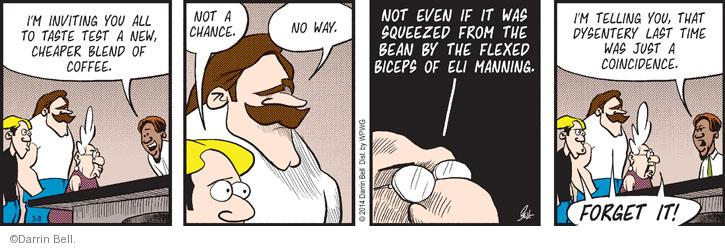 Comic Strip Darrin Bell  Rudy Park 2014-03-08 food poisoning