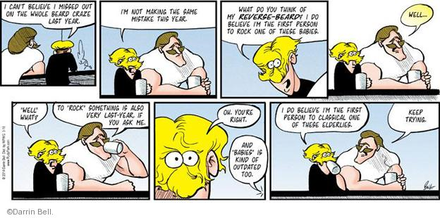 Comic Strip Darrin Bell  Rudy Park 2014-03-16 facial