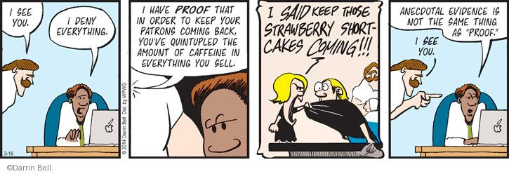 Comic Strip Darrin Bell  Rudy Park 2014-03-18 same thing
