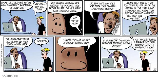 Comic Strip Darrin Bell  Rudy Park 2014-04-06 over