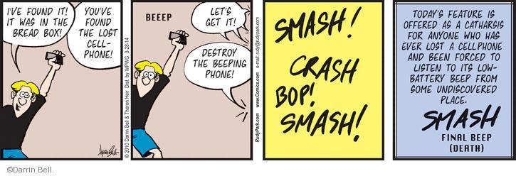 Cartoonist Darrin Bell  Rudy Park 2014-03-28 today