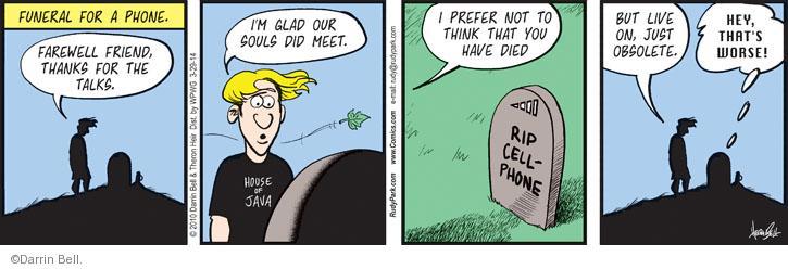Comic Strip Darrin Bell  Rudy Park 2014-03-29 soul