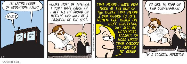 Comic Strip Darrin Bell  Rudy Park 2014-03-31 proof