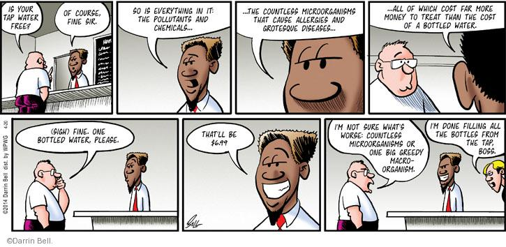 Comic Strip Darrin Bell  Rudy Park 2014-04-20 fill in