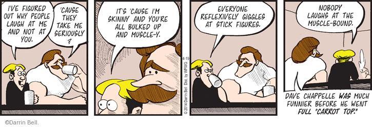 Comic Strip Darrin Bell  Rudy Park 2014-04-19 bind