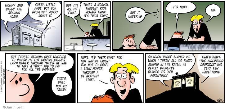 Comic Strip Darrin Bell  Rudy Park 2014-05-11 over