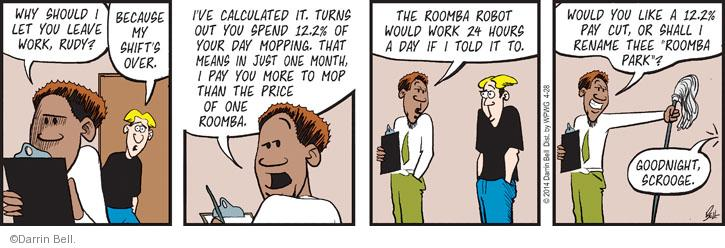 Comic Strip Darrin Bell  Rudy Park 2014-04-28 over
