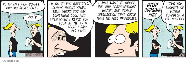 Comic Strip Darrin Bell  Rudy Park 2014-05-03 judge