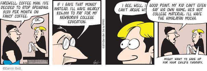 Comic Strip Darrin Bell  Rudy Park 2014-05-12 priority