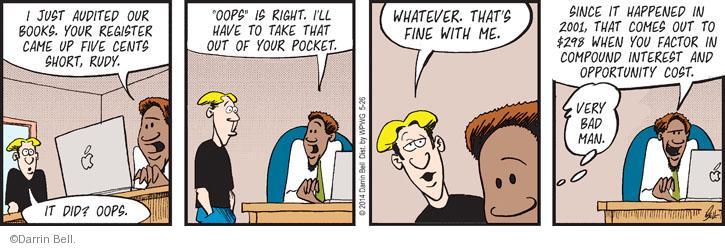 Comic Strip Darrin Bell  Rudy Park 2014-05-26 employee employer