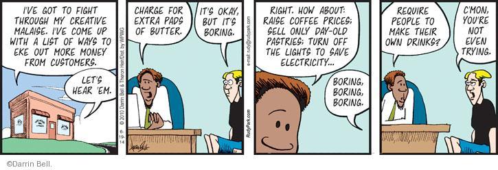 Comic Strip Darrin Bell  Rudy Park 2014-06-19 coffee