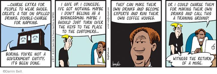 Comic Strip Darrin Bell  Rudy Park 2014-06-20 drink