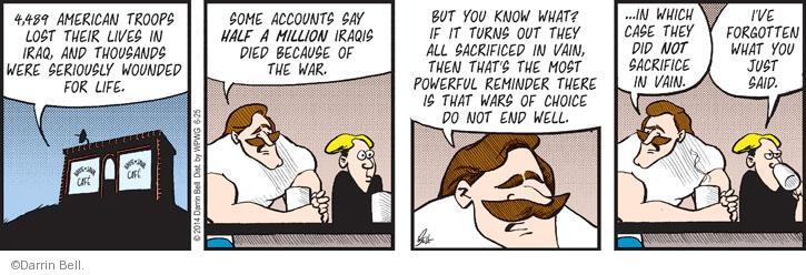 Comic Strip Darrin Bell  Rudy Park 2014-06-25 powerful