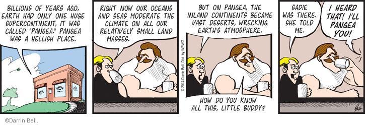 Cartoonist Darrin Bell  Rudy Park 2014-07-16 mass