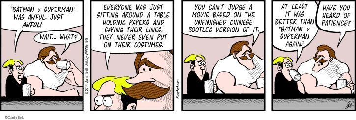 Comic Strip Darrin Bell  Rudy Park 2014-08-09 judge