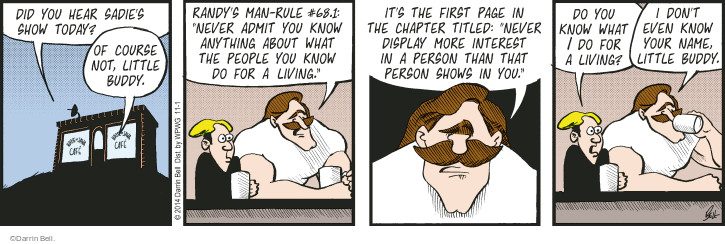 Comic Strip Darrin Bell  Rudy Park 2014-11-01 chapter