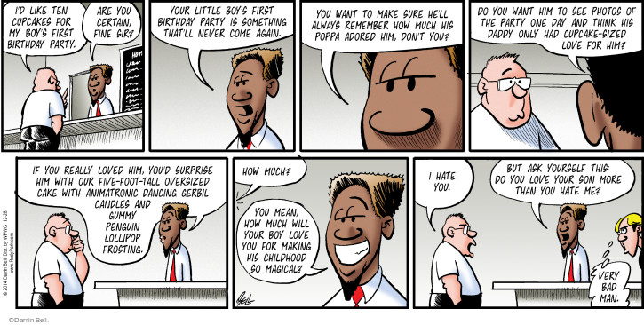 Comic Strip Darrin Bell  Rudy Park 2014-12-28 don't