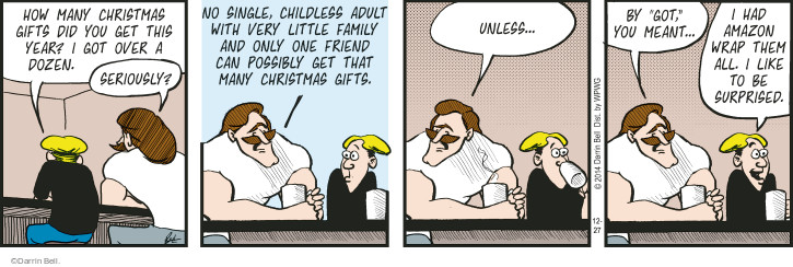 Comic Strip Darrin Bell  Rudy Park 2014-12-27 adult