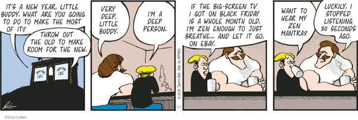 Comic Strip Darrin Bell  Rudy Park 2015-01-01 whole