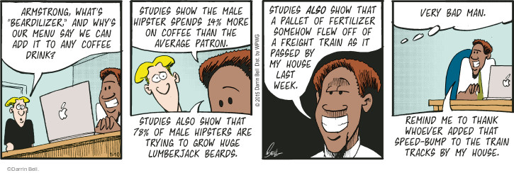 Comic Strip Darrin Bell  Rudy Park 2015-01-10 facial