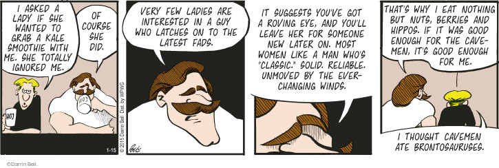 Comic Strip Darrin Bell  Rudy Park 2015-01-15 attract