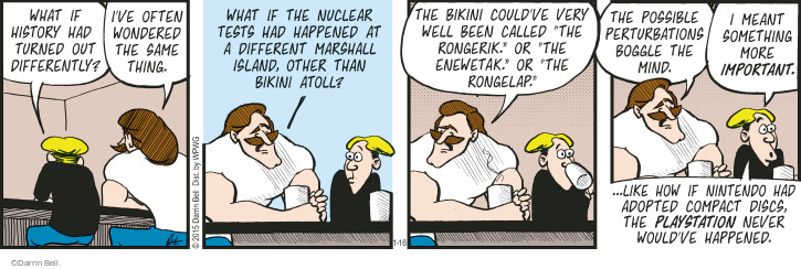 Comic Strip Darrin Bell  Rudy Park 2015-01-16 more important