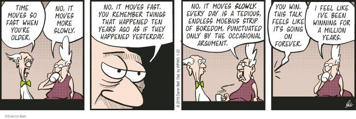 Comic Strip Darrin Bell  Rudy Park 2015-01-22 argument