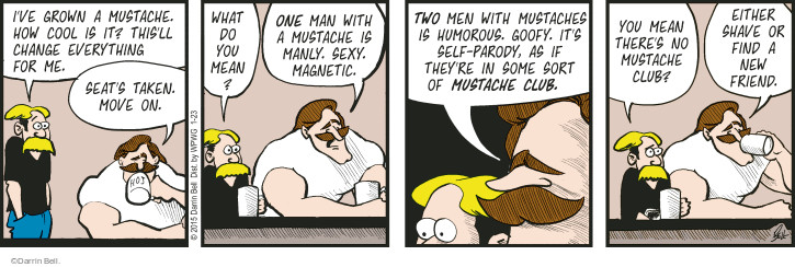 Comic Strip Darrin Bell  Rudy Park 2015-01-23 facial