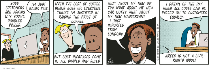 Comic Strip Darrin Bell  Rudy Park 2015-01-26 raise