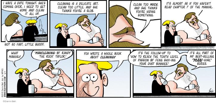 Cartoonist Darrin Bell  Rudy Park 2015-02-15 author