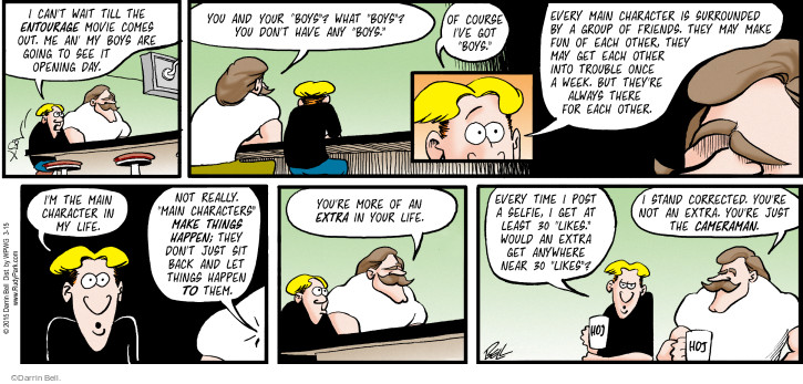 Comic Strip Darrin Bell  Rudy Park 2015-03-15 correct