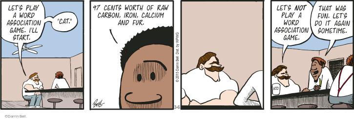 Cartoonist Darrin Bell  Rudy Park 2015-03-06 value