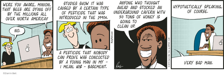 Comic Strip Darrin Bell  Rudy Park 2015-03-24 aware