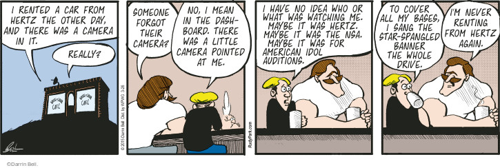 Comic Strip Darrin Bell  Rudy Park 2015-03-26 whole